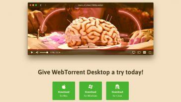 WebTorrent Desktop es un interesante Cliente Torrent y Streaming 2